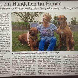 JUBILÄUM – 20 Jahre Hundeschule :-)
